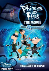 Ver Phineas Y Ferb: A Traves De La Segunda Dimension Online